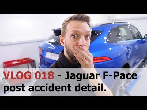 Jaguar F-Pace post accident detail, plus Cambodia highlights- Cambridge Autogleam Detailing VLOG 018
