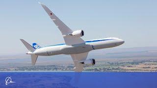 getlinkyoutube.com-Amazing! The Beauty of Boeing's 787-9 Dreamliner on Display