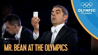 getlinkyoutube.com-Mr. Bean / Rowan Atkinson London 2012 Performance