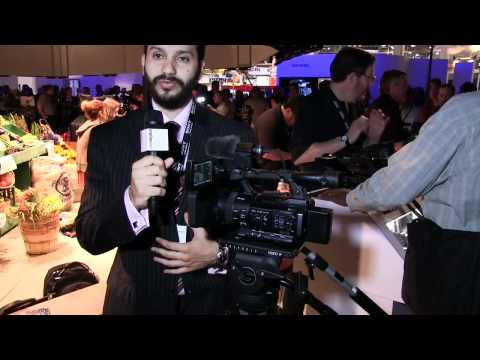 NAB 2012 - Sony PMW-100