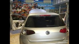 getlinkyoutube.com-Volkswagen golf wrapping fanali posteriori+luci led cortesia