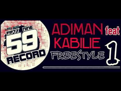 FIFTY NINE RECORD - FREESTYLE N°1 (ADIMAN Ft KABILIE)