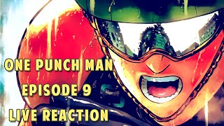 getlinkyoutube.com-One Punch Man (ワンパンマン) Episode 9 Live Reaction – THE PEOPLE'S CHAMP IS HERE!