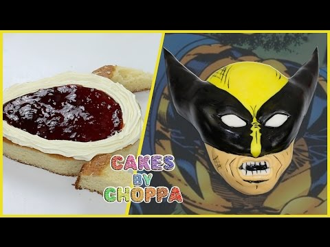 Wolverine | X-MEN Cake (How To)