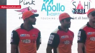IPL Sunrisers tema Members launch Hearing Impaired Apollo Hospitals