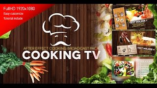 getlinkyoutube.com-Cooking TV - After Effects Template Cook Broadcast Pack