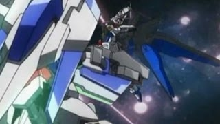 getlinkyoutube.com-Strike Freedom VS 00 Raiser(GN Sword III)