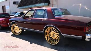getlinkyoutube.com-WhipAddict: Sirius Performance Shop; Supercharged Chevrolet Caprice Gold Amani Forged Vornado 26s