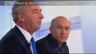 getlinkyoutube.com-C dans l'air - France 5 - Faut-il boycotter la Suisse ?