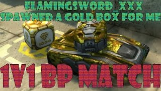 getlinkyoutube.com-TankiOnline: 1v1 XP Match [Spawned GOLDBOX by: flammingsword_xxx]