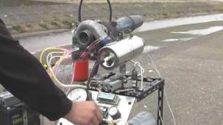 getlinkyoutube.com-自作ジェットエンジン オフ会の様子 その2 (DIY Turbo Jet Engine  No.2)