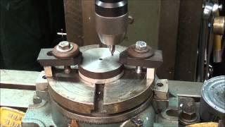 getlinkyoutube.com-MACHINE SHOP TIPS #154 Pt 2 Bolt Circles-Rotary Table Method tubalcain