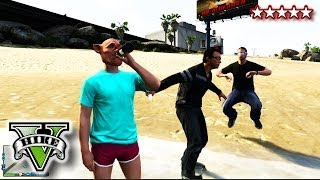 getlinkyoutube.com-GTA 5 SWIMMING On LAND GLITCH!!! - GTA 5 DRINKING & SWIMMING GLITCHING -  Grand Theft Auto 5