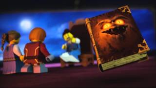 getlinkyoutube.com-Lego Nexo Knights | BOOK OF MONSTERS | EVIL FROM COVER TO COVER | Lego 3D Review