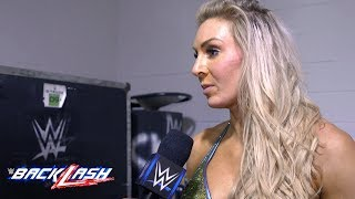Charlotte gives credit to Carmella after WWE Backlash: WWE Backlash Exclusive, May 6, 2018
