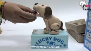 getlinkyoutube.com-กระปุกออมสินสุนัขจอมตะกละ Lucky Dog UN-CHO-KEN
