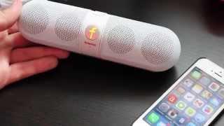 getlinkyoutube.com-Bluetooth Колонка Fivestar F-808(Копия Beats Pill)