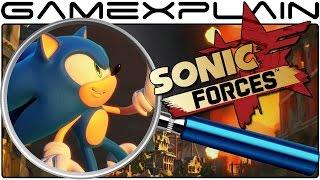 Sonic Forces ANALYSIS - Modern Sonic Gameplay (Secrets & Hidden Details)