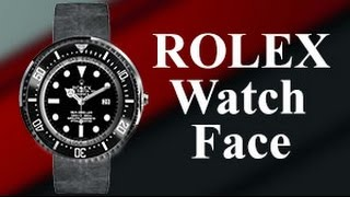 How to get a ROLEX Watch Face For Android Wear?