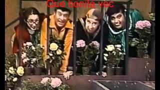 getlinkyoutube.com-El Chavo del Ocho Que bonita vecindad letra