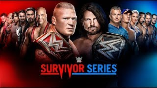 WWE Survivor Series 2017 PREVIEW & PREDICTIONS :: FULL MATCH CARD :: AJ Styles vs. Brock Lesnar!