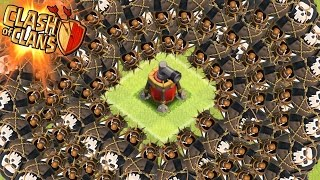 "getlinkyoutube.com-Clash of Clans - ""SWARM THE AIR SWEEPER"" Max Balloons Vs Air Sweeper! Who Wins The Battle?"