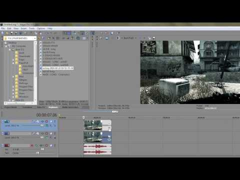 Sony Vegas Tutorial: Original Colour Correction for CoD4 (frag movie style?)