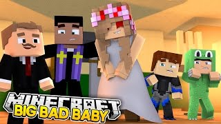 getlinkyoutube.com-Minecraft BIG BAD BABY - HELLO NEIGHBOUR BABY TRIES TO MARRY EVIL LITTLE KELLY w/ Little Lizard