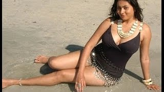 getlinkyoutube.com-Hot South Indian Actress Beach Bikini Show
