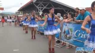 getlinkyoutube.com-Bastoneras del desfile del 15 de setiembre 2014, Pérez Zeledón