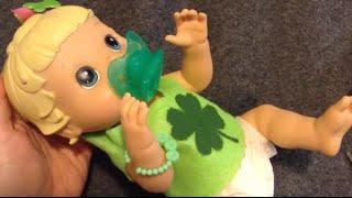 Baby Alive St. Patrick's Day!