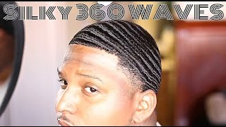getlinkyoutube.com-(Silky 360 Waves) How to change your hair texture