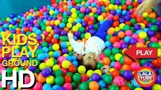 getlinkyoutube.com-lala main di taman bermain anak - kids playground part 2