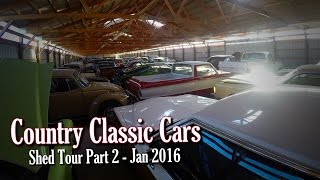getlinkyoutube.com-Country Classic Cars Shed Tour Part 2 - Jan 2016