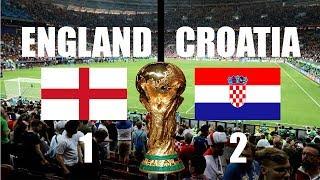 ENGLAND VS CROATIA HIGHLIGHTS LIVE WORLD CUP 2018