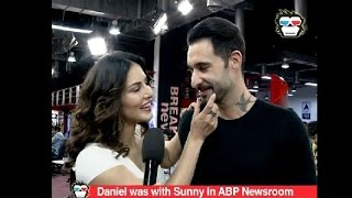 Daniel Weber compares wife Sunny Leone to Dessert on 'One Night Stand' promotions
