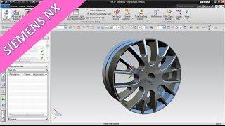 getlinkyoutube.com-Simple Rim / einfache Felge - Siemens NX 9 Training