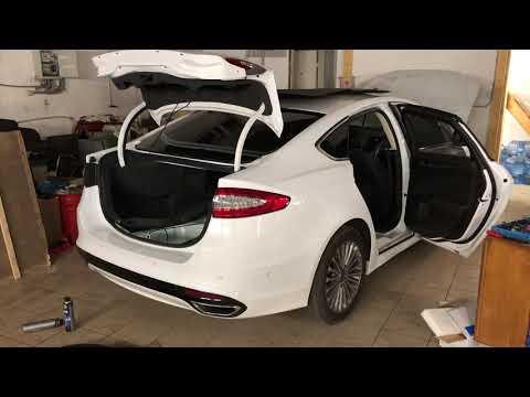 Электропривод крышки багажника Ford mondeo 5