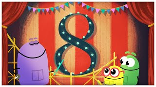 "getlinkyoutube.com-""The Number Eight,"" Number Songs by StoryBots"