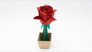 getlinkyoutube.com-ORIGAMI MASAHIRO ROSE (Masahiro Ichikawa) - Valentine's day