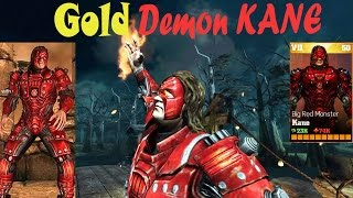 getlinkyoutube.com-Update 1.9 Big Red  Monster KANE Review All special Attacks:WWE Immortals Ios/Android