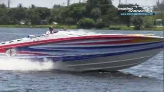 getlinkyoutube.com-2005 Cigarette 42X, Triple Mercury Racing 525 Boat for Sale by Marine Connection Boat Sales
