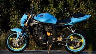 getlinkyoutube.com-How to modify old Suzuki Gsxr 750 into streetfighter