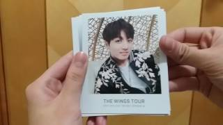 BTS방탄소년단 THE WINGS TOUR in Seoul Official Goods unboxing