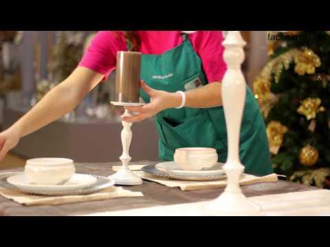 *Cómo decorar una mesa de Navidad | facilisimo.com