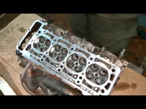 Мерседес, двигатель 111.945. Замена цепи, прокладки ГБЦ, фазорегулятор. День 4
