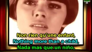 getlinkyoutube.com-Mireille Mathieu Je ne suis rien sans toi English French Lyrics