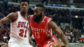 getlinkyoutube.com-Jimmy Butler Lockdown Defense on James Harden