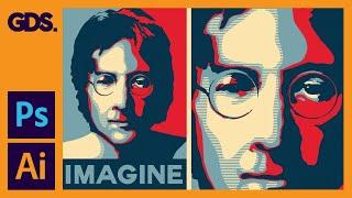 getlinkyoutube.com-Create The Obama Hope Poster Style In Adobe Illustrator