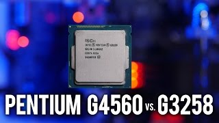 getlinkyoutube.com-G4560 vs. G3258 - Pentium Brawl 3.5GHz vs. 4.6GHz, Who Wins?